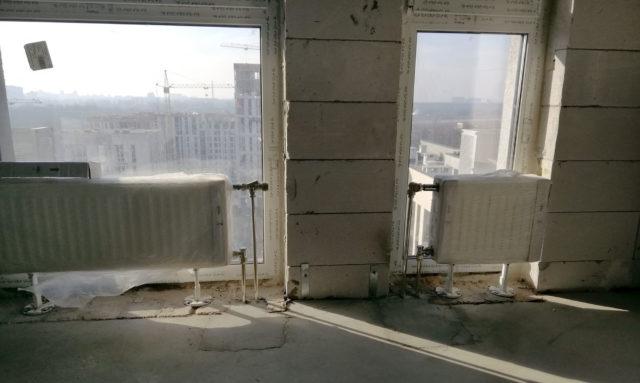 Панорамные окна и радиаторы отопления – как совместить несочетаемое