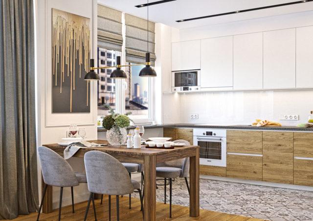 Планирование освещения и выключателей при ремонте в новостройке - Кухня