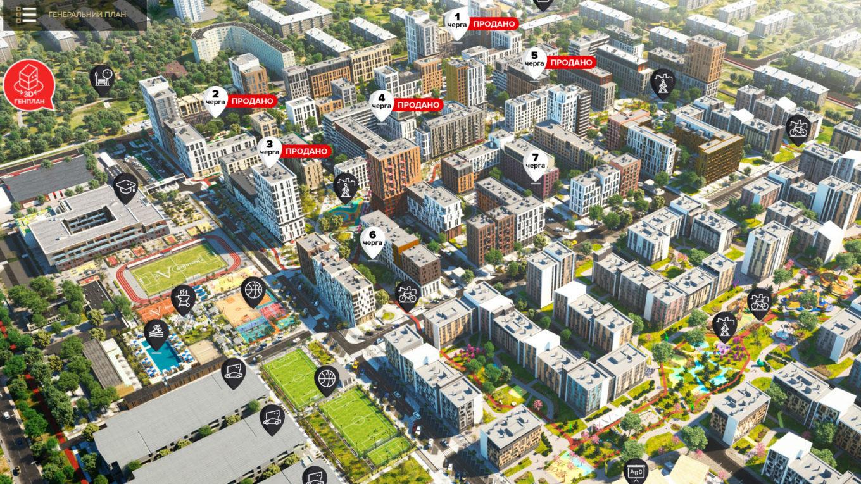 Начались продажи квартир в 7-й очереди «Файна Таун» – с видом на променад