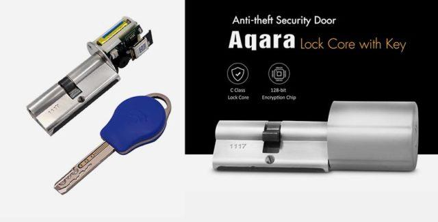 Умный замок Aqara anti-theft lock