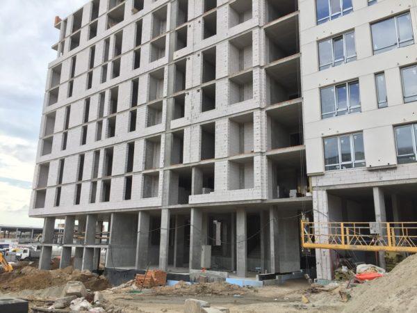 Средняя площадь квартир в украинских новостройках в 2018 году составил 84,2 квадратных метра