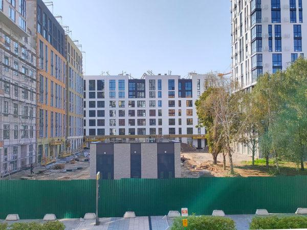 Ход строительства «Файна Таун»: октябрь 2020 года