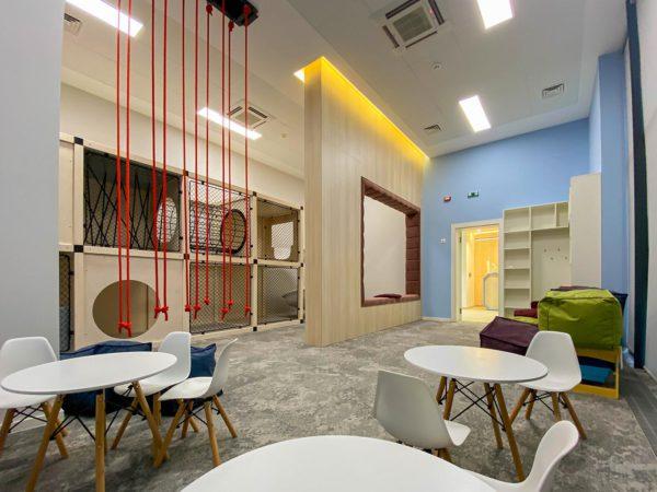 В «Файна Таун» открылась детская комната