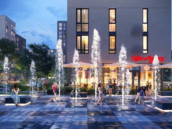 «Файна Таун» - это не только квартиры, но и целая комфортная жилая среда