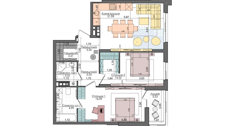 Концепция ПРО-квартир «Файна Таун»