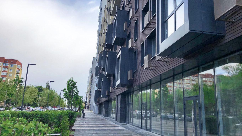 Ход строительства «Файна Таун» – июнь 2020 года