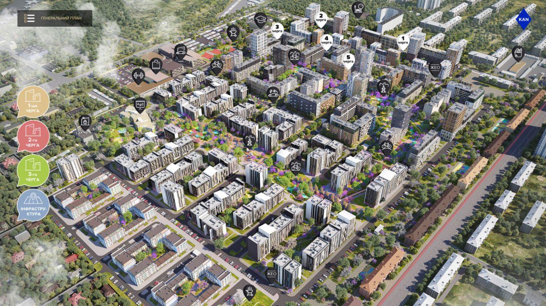 Новый генплан «Файна Таун» обещает ряд «плюшек» инвесторам и жильцам