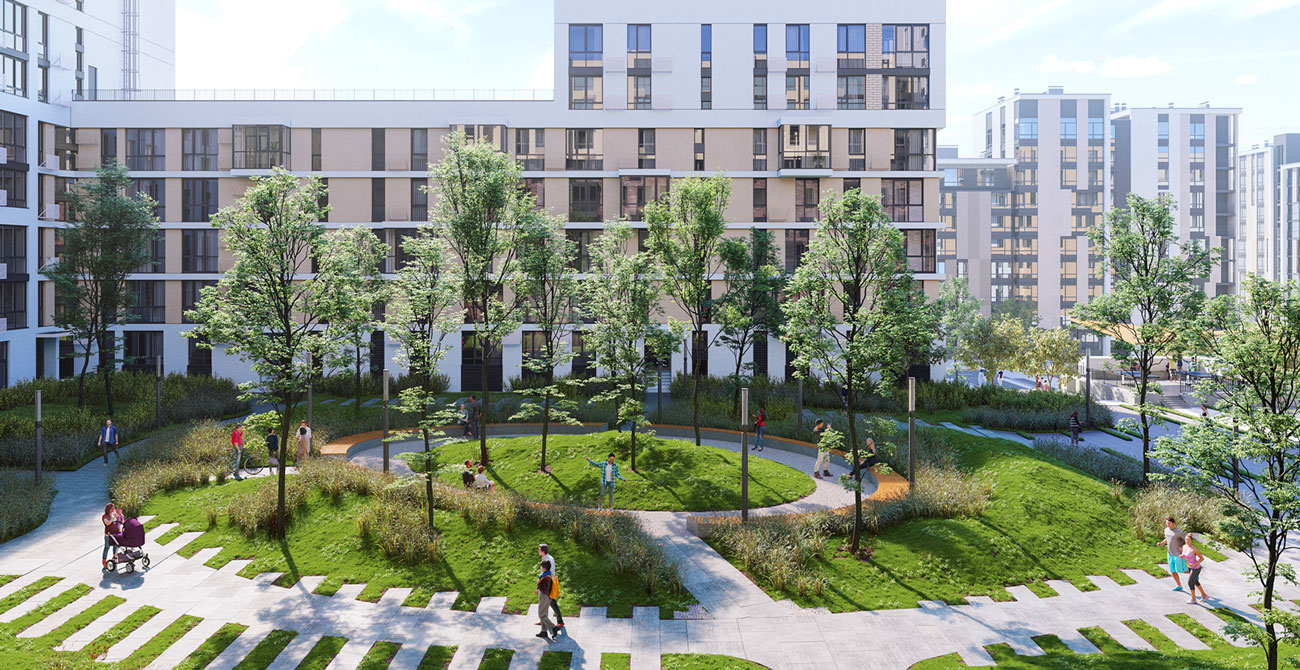 Начинаются продажи квартир в пятой очереди «Файна Таун» и предлагаются скидки 5%