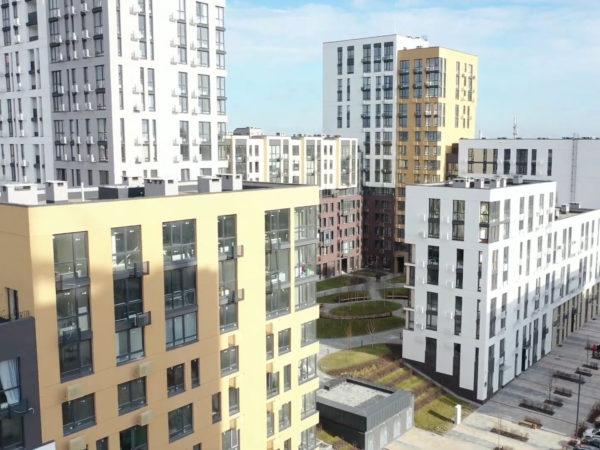 Ход строительства «Файна Таун» по состоянию на февраль 2020 года (видео)