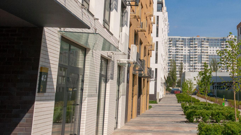 В «Файна Таун» выставили на продажу коммерческую недвижимость на первых этажах