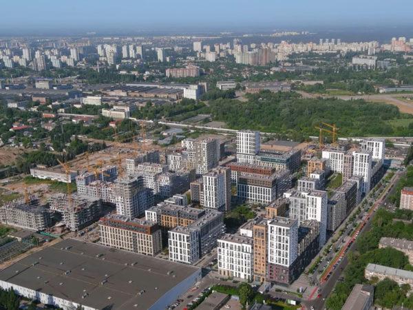 Ход строительства «Файна Таун»: июнь 2021 года – видео и подробная информация по очередям и секциям