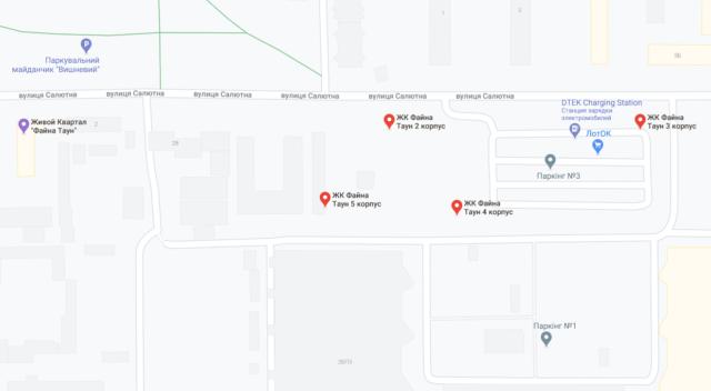 Все дома Файна Таун добавлены в Google Maps