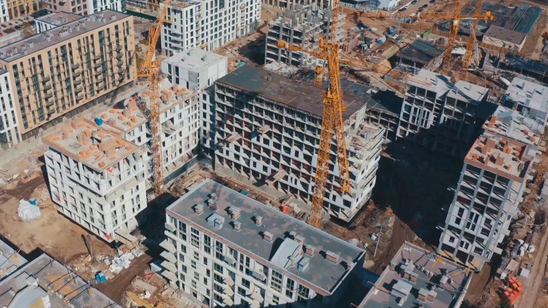 Ход строительства «Файна Таун»: март 2021 года, 7-я очередь